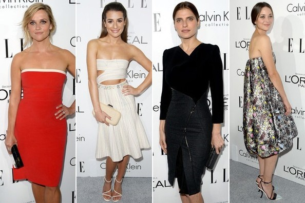 Best Dressed at ELLE's Women in Hollywood Celebration 2013