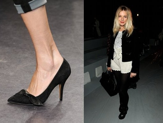 f8eed6e3eea Isabel Marant Suede Bow Pump - Hollywood s  It  Shoes for Fall 2010 ...