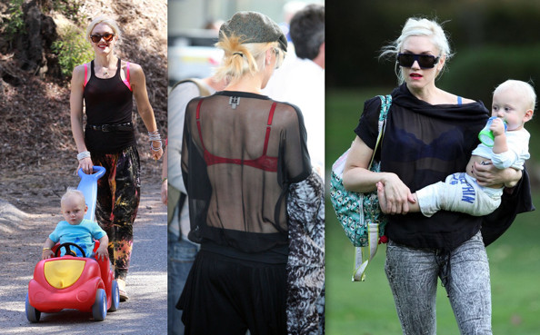 Gwen Stefani Really Wants You to Check Out Her Bra