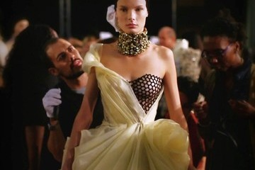 Just Released: A Behind the Scenes Look at the Alexander McQueen Spring '13 Show