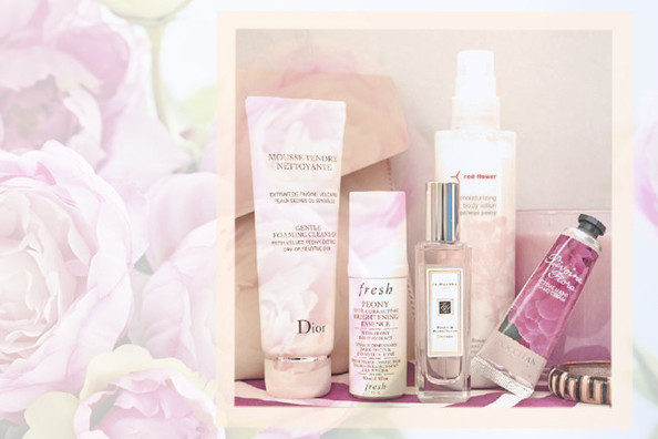 Ten Peony-Scented Beauty Products