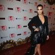 Stunning Photo of Kim Kardashian's Epic Black Mullet Dress at the MTV EMAs