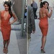 Look of the Day: Lea Michele's Burnt Orange Glam