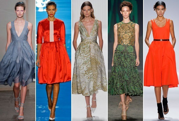 Spring 2013 Runway Trend: Full Skirts