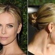 Charlize Theron's Twisted & Braided Bun