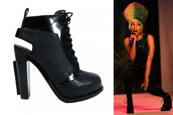 Nicki Minaj Performs in Alexander Wang's Dakota Booties