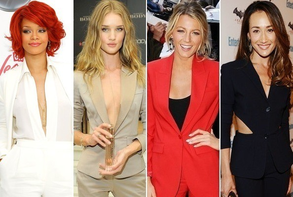 How to Wear a Pantsuit Like a Celebrity