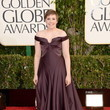 Lena Dunham Wears Zac Posen at the 2013 Golden Globes