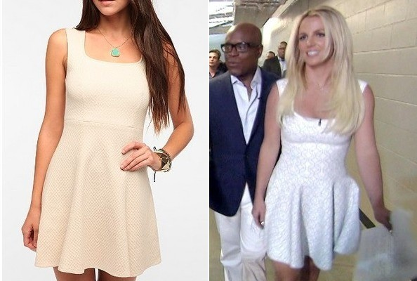 Britney Spears' Little White Dress on 'The X Factor'