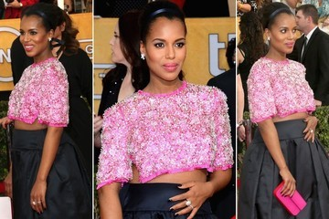 Kerry Washington Proves Anyone Can Rock a Crop Top at ANY Size