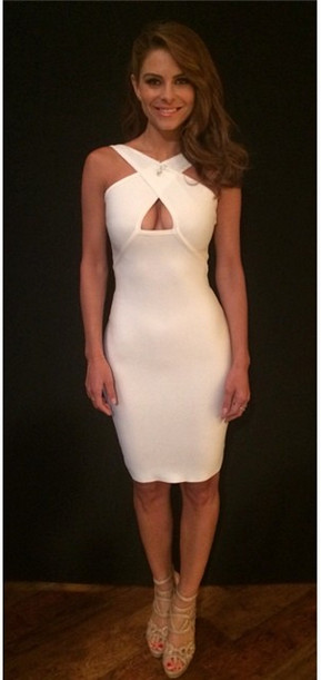Found: Maria Menounos' Sexy White Dress