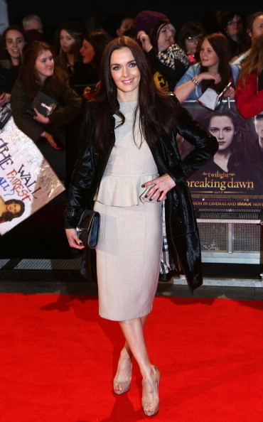 Victoria Pendleton at the 'Twilight Saga: Breaking Dawn - Part 2' London Premiere