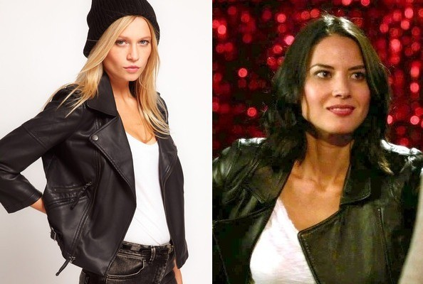 Olivia Munn's Biker Jacket on 'New Girl'
