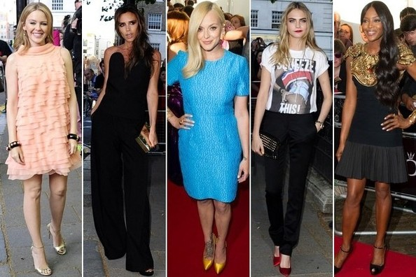 Best Dressed at Glamour UK's Women of the Year Awards 2013