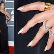 Jennifer Lopez's Nail Art at the 2013 Grammy Awards