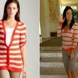 Kathy Wakile's Striped Sweater on 'The Real Housewives of New Jersey'