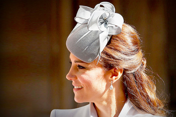 Kate Middleton's Half Updo Hairstyles