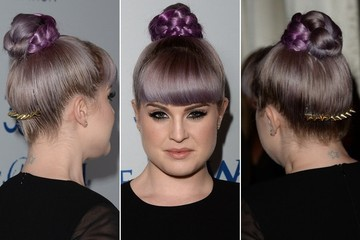 Kelly Osbourne Rocks Yet Another Cool Hair Accessory