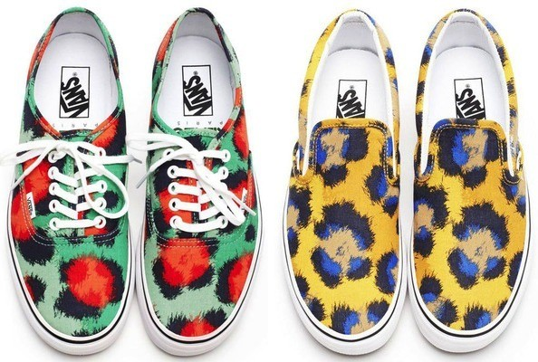 Sneak Peek: The Vans x Kenzo collaboration - Spring 2013