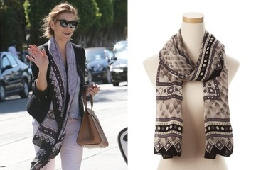 Found: Kate Walsh's Sweet Spring Scarf