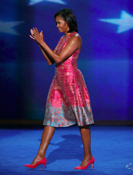Michelle Obama Wears Tracy Reese and J. Crew at the Democratic National Convention