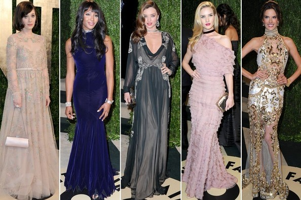 Best Dressed at the 2013 Vanity Fair Oscars Party