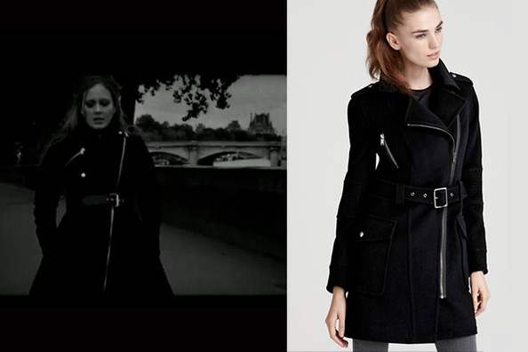 Adele's Military Coat From 'Someone Like You'