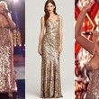 Christina Aguilera's Sequined Gown on 'The Voice'