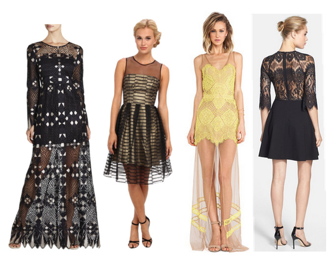 Fashion Trend Report: Sheer Eveningwear