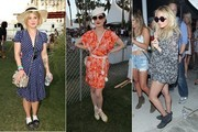 Celebrity Street Style at Coachella 2011