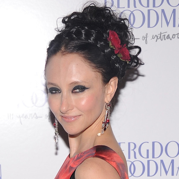Braid of the Day: Stacey Bendet's Curly Updo + 3 Cute Hair Accessories to Try