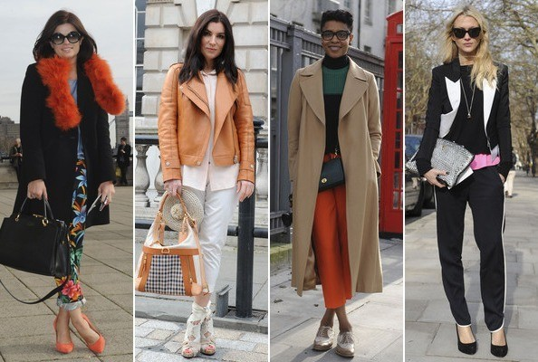 The Best Street Style at London Fashion Week Fall 2012