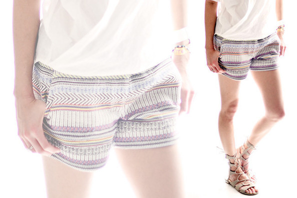 10 Ways to Rock Printed Shorts This Summer
