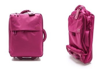 Current Obsession: Lipualt Paris Foldable Wheeled Carry On Bag