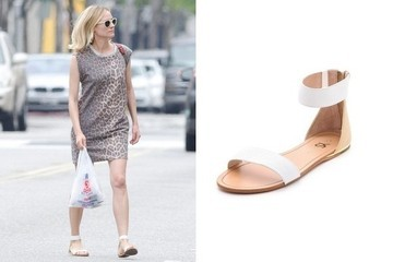 Found: Diane Kruger's Sleek Sandals