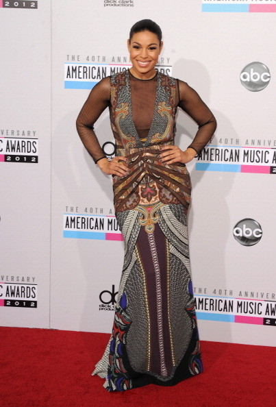 Jordin Sparks at the 2012 AMAs