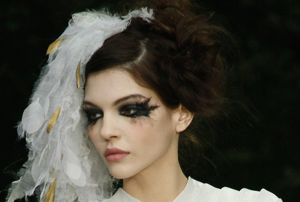 Chanel's Gothic Glamour