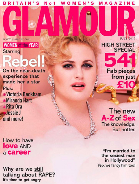 Our Imaginary Best Friend Rebel Wilson Lands Her First Magazine Cover