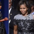 Michelle Obama in Thom Browne
