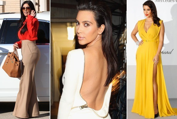 A Look Back at Kim K's Best Looks of the Year