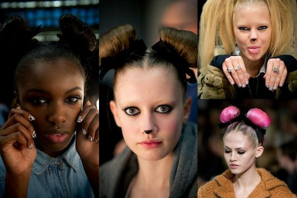 Backstage Beauty: Topshop Unique Fall 2011