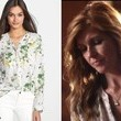 Connie Britton's Floral Print Blouse on 'Nashville'