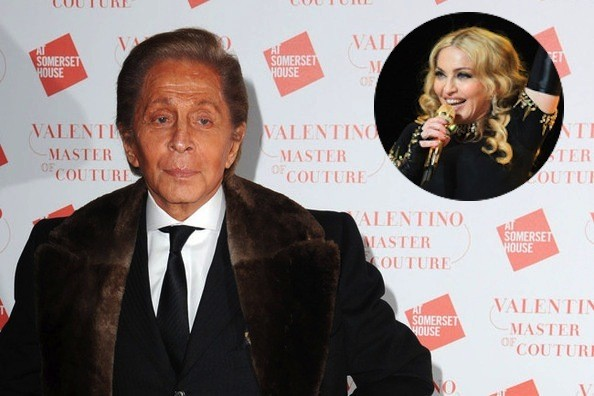 Cops Crashed Valentino's Pad on NYE for Blaring Madonna