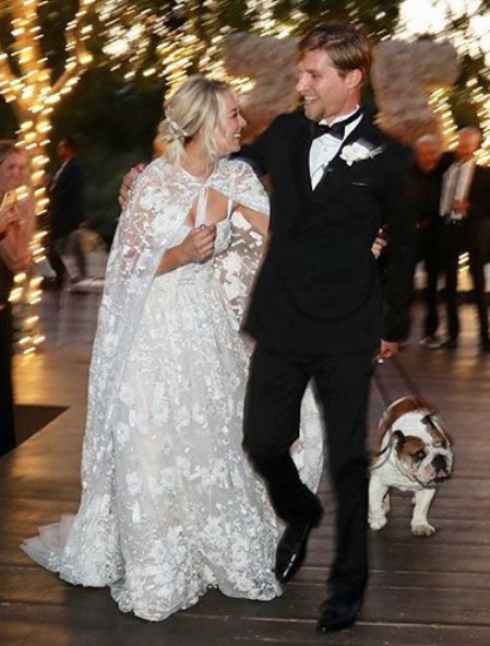 Kaley Cuoco 2018 Celebrity Wedding Dresses We Can T Get
