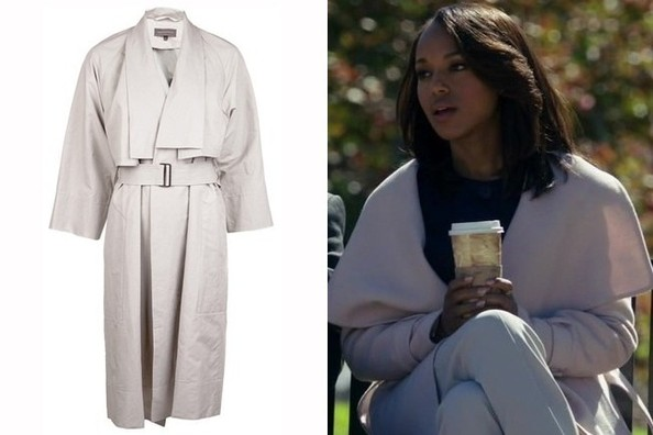 A Shawl-Collar Coat Like Kerry Washington's on 'Scandal'
