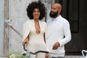 Look of the Day: Solange Knowles in Wedding White