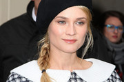 Cold-Weather Hair Ideas - How to Make Hat Hair Look Chic