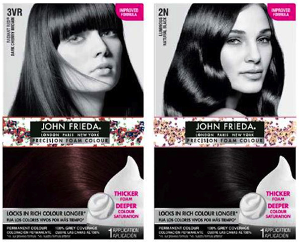 Zac Posen Designs Hair Accessories (& Coloring Kit Boxes) for John Frieda