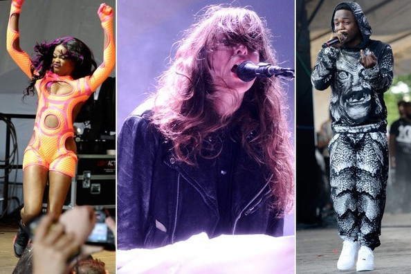 The Best Band Outfits at Governors Ball 2013