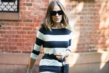 Found: Sarah Jessica Parker's Striped Sweater